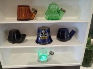 spot the milticoloured teakettle mickys display