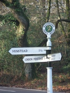 minstead sign